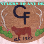 Antlers (Example) Ranch Mat