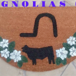 MAGNOLIAS Ranch Mat