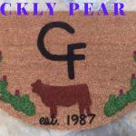 PRICKLY PEAR Ranch Mat
