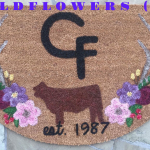 WILDFLOWERS Ranch Mat